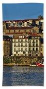 View Of Porto And Douro River Bath Towel
