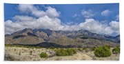 View Of Sandia Mountain Bath Towel