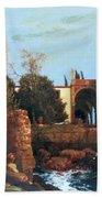 Villa By The Sea 1878 Bath Towel