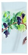 Vine And Branch Bath Towel