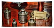 Vintage Apothecary Pharmacist Weights And Scale Hand Towel
