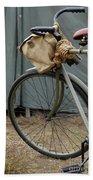 Vintage Bicycle World War II  Hand Towel