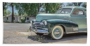 Vintage Car Chevy Fleetmaster Hand Towel