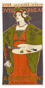 Vintage Poster - Louis Rhead Bath Towel