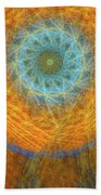 Visionary Hand Towel by Skip Hunt