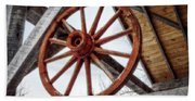 Wagon Wheel Hand Towel