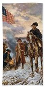 Washington At Valley Forge Bath Towel by War Is Hell Store