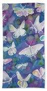 Watercolor - Butterfly Design Hand Towel