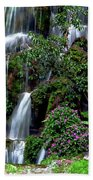 Waterfalls At Seven Star Park Hand Towel