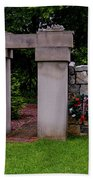 Waterloo Civil War Memorial Hand Towel