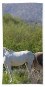 Wild Horses Tonto National Forest Bath Towel