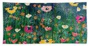 Wildflowers 2- Art By Linda Woods Hand Towel