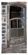 Window Below Bath Towel by Ann E Robson