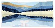 Winter Reflection Bath Towel