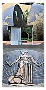 World War 2 Memorial Savannah Bath Towel