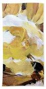 Yellow #4 Hand Towel