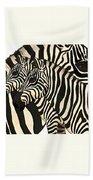 Z Is For Zebras Bath Towel