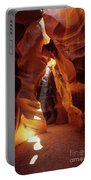 Antelope Canyon Ray Of Hope Portable Battery Charger