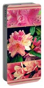Azaleas 1950's Style Portable Battery Charger