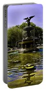 Bethesda Fountain - Central Park  Portable Battery Charger