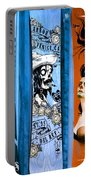 Bluesy Skateboard Art Portable Battery Charger