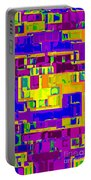 Bold And Colorful Phone Case Artwork City Abstracts By Carole Spandau Cbs Art Exclusives 132  Portable Battery Charger