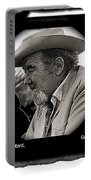 Broderick Crawford  All The King's Men Homage 1949 Gallery In The Sun Tucson Arizona Portable Battery Charger