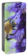 Bumblebee On Buddleja Portable Battery Charger