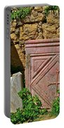 Byzantine Cross In Myra-turkey Portable Battery Charger