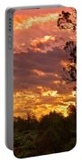 Canyon Dechelly Sunset In Copper And Gold Portable Battery Charger