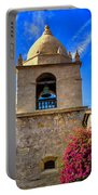 Carmel Mission Portable Battery Charger by Garry Gay