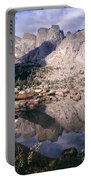 Cirque Of The Towers In Lonesome Lake   Portable Battery Charger