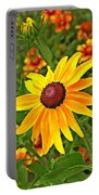 Coneflower And Gaillardia Portable Battery Charger