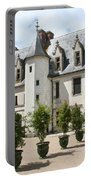 Courtyard Chateau Chaumont Portable Battery Charger