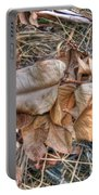 Dead Leaves Portable Battery Charger