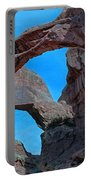 Double Arch - Arches National Park Portable Battery Charger