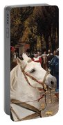 English Bulldog Art Canvas Print - Les Fiances Portable Battery Charger