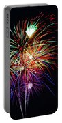 Fireworks Across The Bay Portable Battery Charger