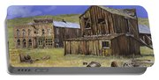 Ghost Town Of Bodie-california Portable Battery Charger