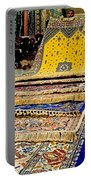 Gorgeous  Berber Rugs In Tangiers-morocco Portable Battery Charger