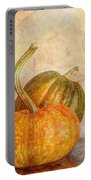 Gourd And Pumpkins II Portable Battery Charger