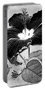Hibiscus Art Portable Battery Charger