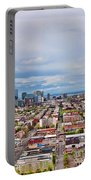 Hoboken-hudson River Panorama - Portable Battery Charger