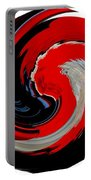 Infinity Multicultural American Flag Chief 1 Portable Battery Charger