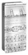Inquiry Into The Loss Of The Titanic Cross Sections Of The Ship  Portable Battery Charger