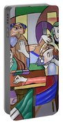 Jesus Anointed At Bethany Portable Battery Charger