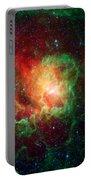 Lagoon Nebula Portable Battery Charger