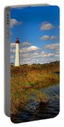 Lighthouse At The Water Portable Battery Charger