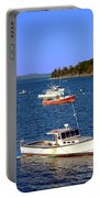 Maine Lobster Boat Portable Battery Charger