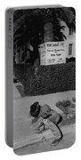 Man From Monterey Homage 1933 Sleeping Cowboy Tucson Arizona 1984 Portable Battery Charger
